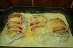 Куриные грудки в сметанном соусе - фото шаг 10