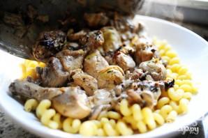 Курица с грибами и артишоками - фото шаг 13