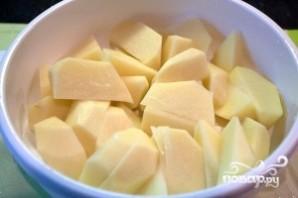 Картофель в сливочном соусе - фото шаг 2