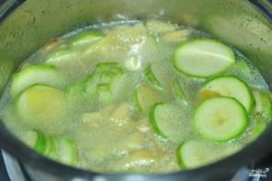 Крем-суп из кабачков - фото шаг 3