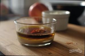 Салат с брокколи и яблоком - фото шаг 3