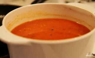 Томатный суп с мясом - фото шаг 11
