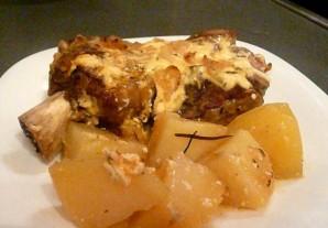 Телятина, запеченная с картофелем - фото шаг 9