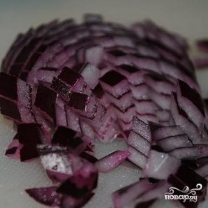 Салат из домашнего сыра и фасоли - фото шаг 1
