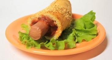 Французский хот-дог - фото шаг 4