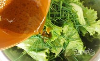 Стручковый горох с овощами - фото шаг 6
