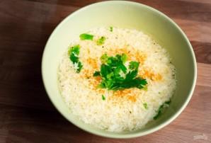 Страчателла (суп с яйцом) - фото шаг 4