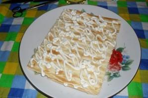 """Рыбный пирог из коржей """"Наполеон"""" - фото шаг 4"""