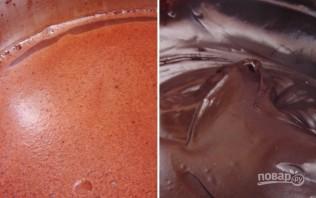 Шоколадные маффины с заварным кремом - фото шаг 2