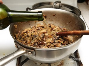 Сливочный суп с белыми грибами - фото шаг 4