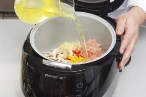 Суп с креветками в мультиварке - фото шаг 2