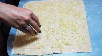 Домашние чипсы из лаваша - фото шаг 4