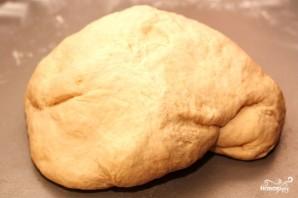 Фокачча с сыром и базиликом - фото шаг 2