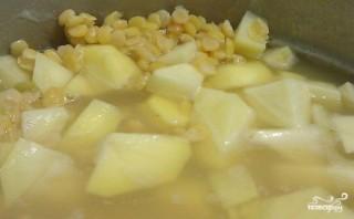 Гороховый суп для похудения - фото шаг 4