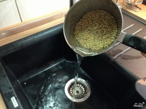 Суп-пюре из чечевицы зеленой - фото шаг 2