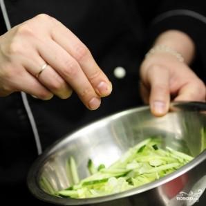 Восточный салат - фото шаг 6