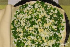 Слоеный пирог с сыром и яйцом - фото шаг 1