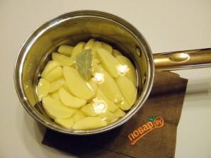 Картофельная запеканка с фаршем - фото шаг 1