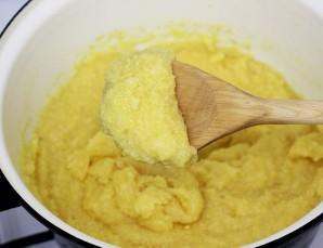 Мамалыга с сыром - фото шаг 3