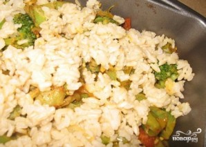 Рис с брокколи - фото шаг 7