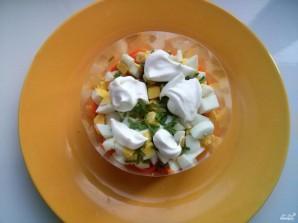 Салат с корейской морковкой - фото шаг 3