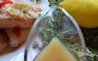 Филе семги в духовке - фото шаг 6