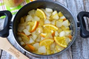Варенье из груш с апельсином - фото шаг 5