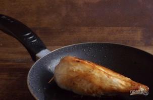 Мясной рулет с овощами и сыром - фото шаг 6