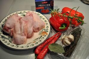 Цыпленок чилиндрон - фото шаг 1