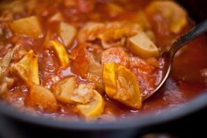 Рагу с картошкой и капустой - фото шаг 7