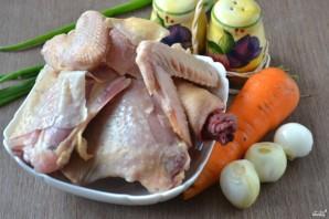 Тушеная курица - фото шаг 1