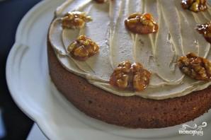 Тыквенный пирог с кремом из коричневого масла - фото шаг 8