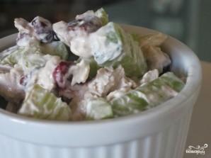 Салат из индейки с яблоками - фото шаг 7