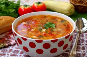 Овощной суп с кабачками - фото шаг 5