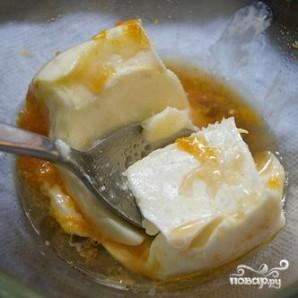 Кукурузные оладьи с черникой и апельсиновым маслом - фото шаг 6