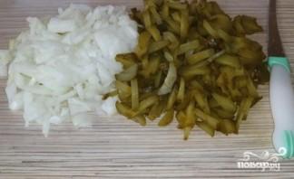 Солянка с мясом и колбасой - фото шаг 3