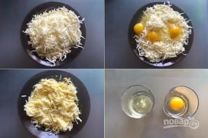 Хачапури по-аджарски из слоеного теста - фото шаг 1