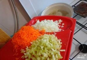 Суп из куриных потрохов с грибами - фото шаг 6