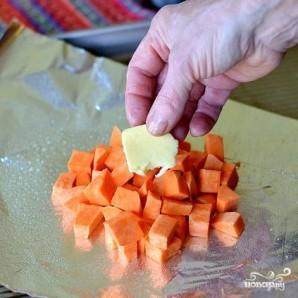 Запеченный сладкий картофель с фасолью и говядиной - фото шаг 2