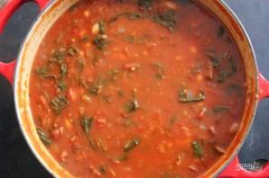 Овощное рагу с колбасой - фото шаг 5
