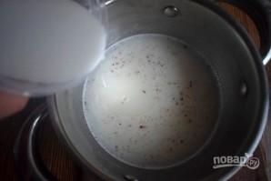 Медовое пирожное с начинкой - фото шаг 6