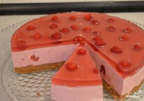 Сметанный торт с малиной - фото шаг 9