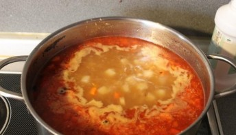 Суп в хлебе по-чешски - фото шаг 9