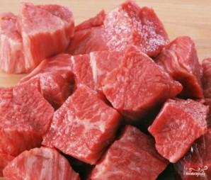 Капуста с говядиной в мультиварке - фото шаг 1