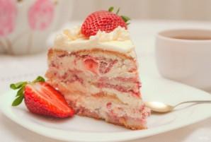 Торт с кремом из сливок - фото шаг 27