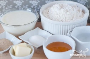 Классический белый хлеб - фото шаг 1