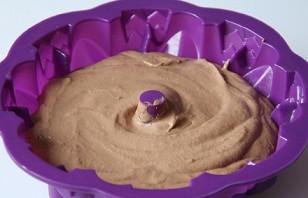 Шоколадный пудинг в микроволновке - фото шаг 4