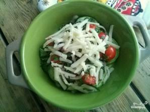 Кабачки с помидорами и чесноком - фото шаг 3