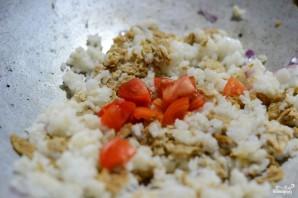 Жареный рис по-тайски - фото шаг 4