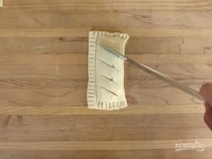 Яблочные слойки с корицей - фото шаг 7